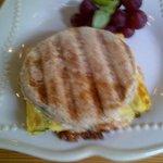 The 'Wild Yolk' breakfast sandwich