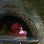 the great hand made pizza oven daily fresh made pizza ;-)