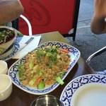 Fried Rice with Roast Duck and Vehetables