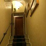 Trappa till andra våningen