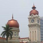Colonial buildings with Islamic stylings