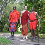The three jumping Maasai
