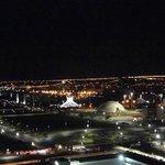 Vista noturna de Brasilia