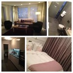 Our suite at the Black Pearl! Beautiful and every detail was thought of!