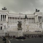 Monumento a Vittorio Emanuele II visto da Piazza Venezia