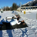 Biathlon course at the new Biathlon Stadium