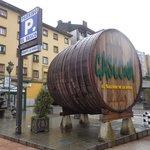 Gascona, calle de sidrerías