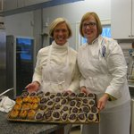 Dana and Pastry Chef Susan Holding