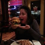 Burgers taller than the Tetons!