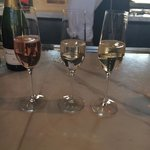 Sparkling wine at Ram's Gate Winery