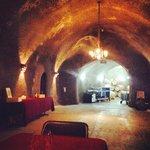 Wine cave at Truchard