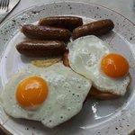 sausage n egg