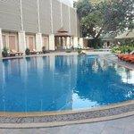 pool near restaurent