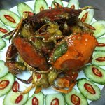 Salted egg crab...