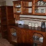 Self-catering chalet kitchen