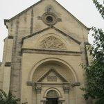 église près de l'hotel