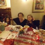 birthday girl with great grand daughters