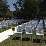 Wedding at our Salt Rock Villa Site Livingstone