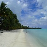 One Foot Island on the Aitutaki lagoon day trip