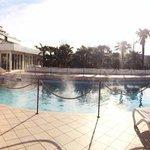 Panoramica piscina esterna