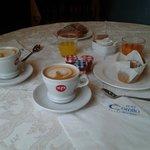 ..la ricca colazione..