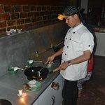 Den underhållande kocken