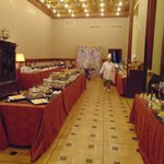 Dining. Royal Buffet for breakfast