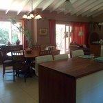 Communal dining / lounge area