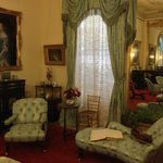 Lots of antique furniture In many of the rooms