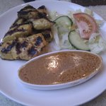 Chicken Satay Starter