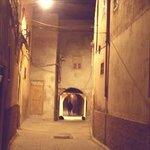 Riad Lila il vicolo che conduce all'ingresso