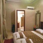Riad Lila camera con bagno, al primo piano