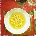 soup with tortellini