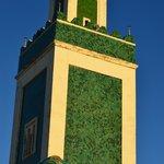 minareto  dalle camere studenti primo piano