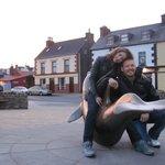 Fungie statue in Dingle