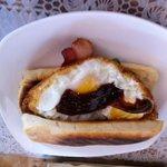 Egg Sandwich - Delicious muffin