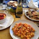 Gnocchi polenta e spaghetti