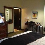 Bedroom, with en-suite and flatscreen TV