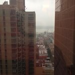 View from our room of Hudson River!