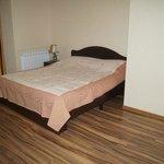 ummm .. the bed :)