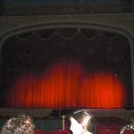 Majestic Curtain at the Paramount