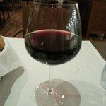 Dinner - local wine