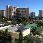 Vista do Quarto (frontal Hotel)