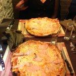 pizzas saumon