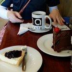 커피 블루베리치즈케이크 초콜렛케이크