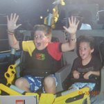my sons on the last ride of the day!!