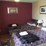 Twin-bedded ensuite room