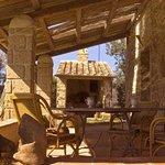forno a legna-portico casale