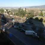 Panorama di giorno dalla stanza 405