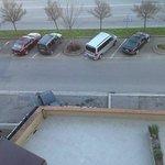 Parcheggio gratuito di fronte all'hotel